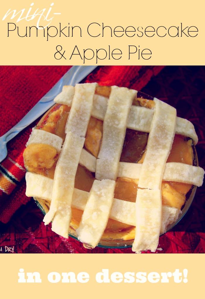 Pumpkin Cheesecake – Apple Pie