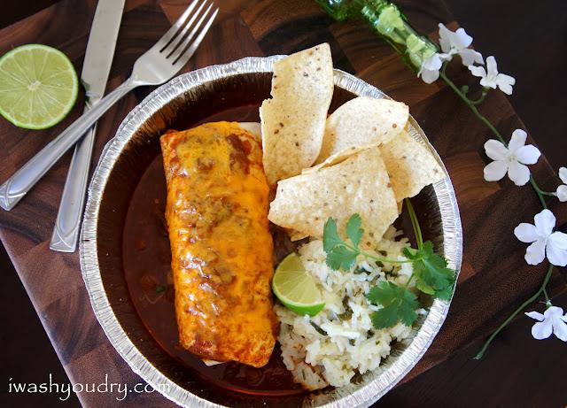 Crock Pot Smothered Beef Burritos
