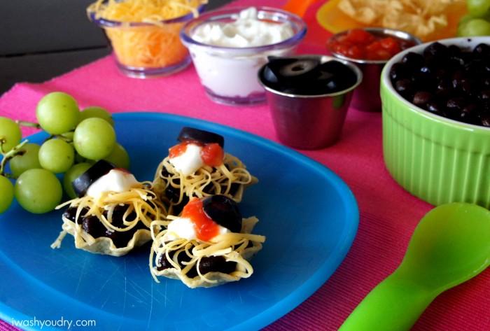 These Mini Taco Bites are so cute and super tasty!