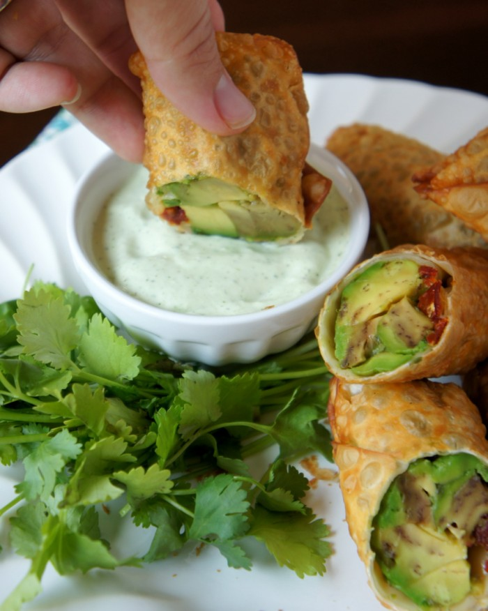 Avocado Eggrolss like Cheesecake Factory