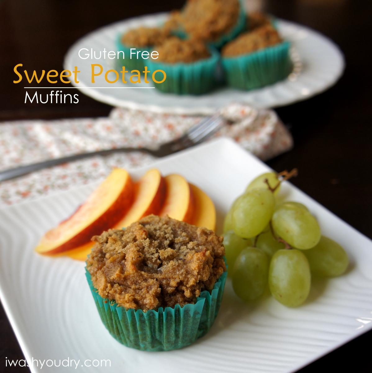 Gluten Free Sweet Potato Muffins (using Coconut Flour)
