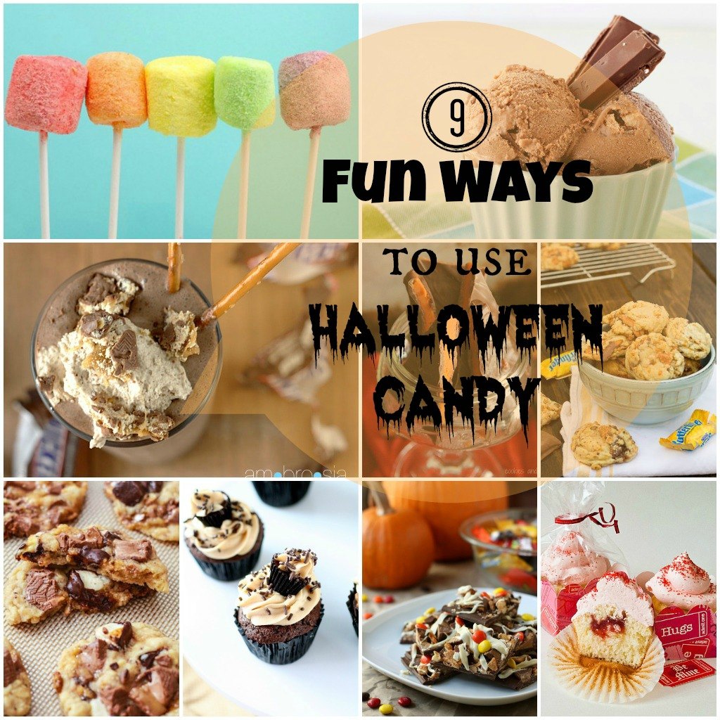 Saturday Morning Roundup – 9 Ways To Use Halloween Candy