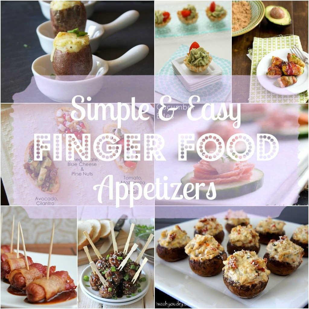 Saturday Morning Roundup – Party Finger Food Appetizers