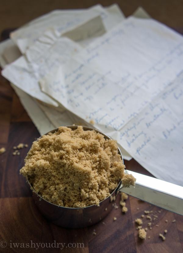 Fluffy Brown Sugar Icing {Pat's Recipes}