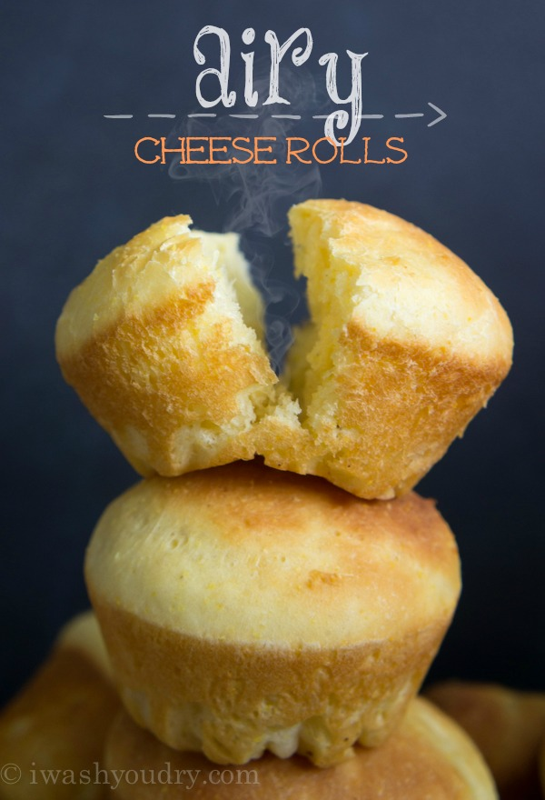 Airy Cheese Rolls {Pat's Recipes}