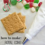 How to make Royal Icing. (Gingerbread House glue!!)