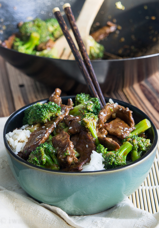 Classic Beef with Broccoli