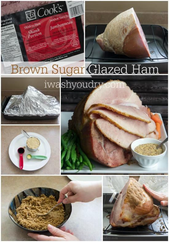 Brown Sugar and Balsamic Glazed Ham
