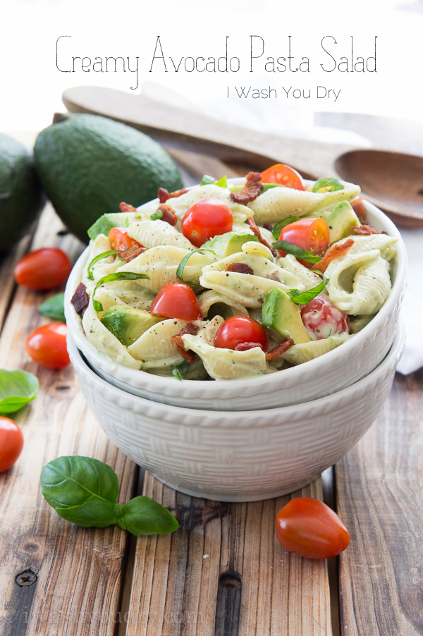 Creamy Avocado Pasta Salad