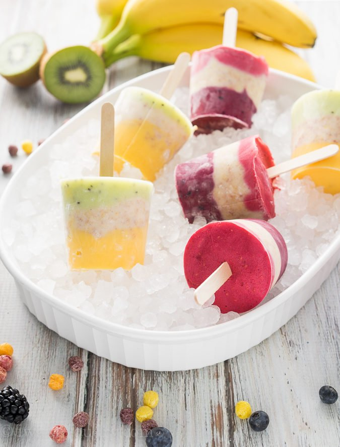 New and improved Trix Yogurt Popsicles with no artificial flavors or colors!