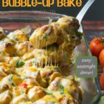 Chicken Fajita Bubble Up Bake!