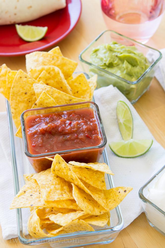 Fajita Veggie Burritos