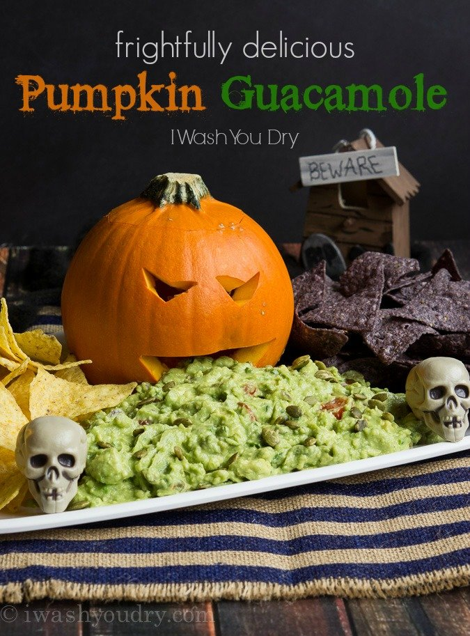 Pumpkin Guacamole
