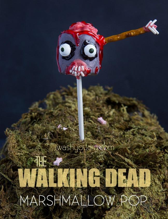 The Walking Dead Marshmallow Pops