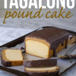 Tagalong Pound Cake