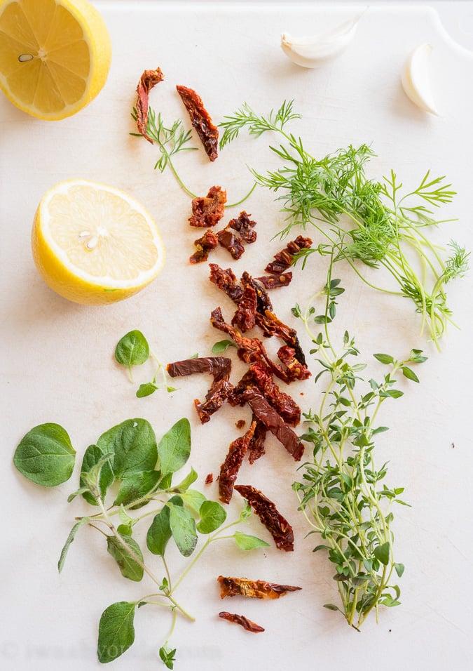 Greek Spinach-Tortellini Salad
