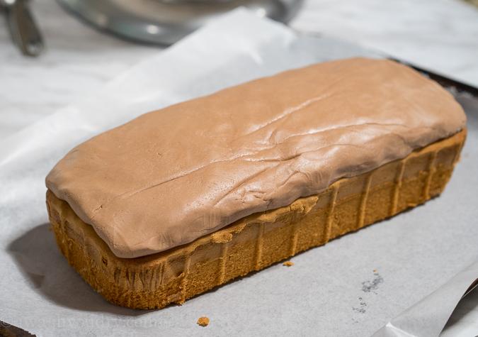 Thin Mint Pound Cake