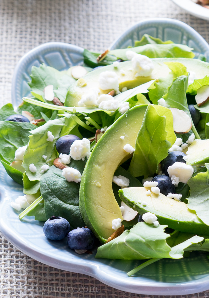 Superfood Avocado Blueberry Salad