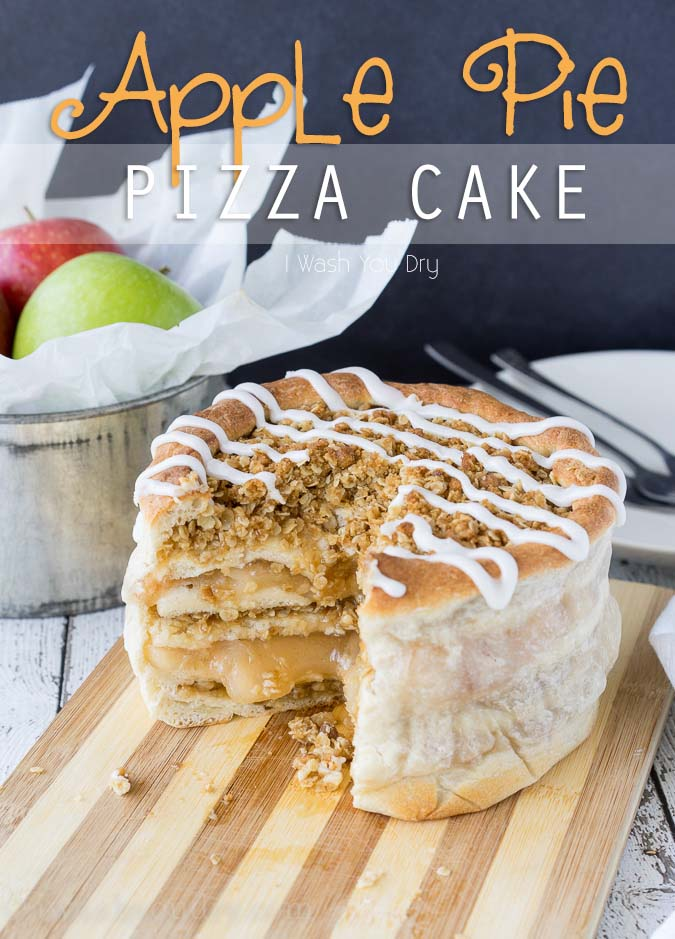 Apple Pie Pizza Cake