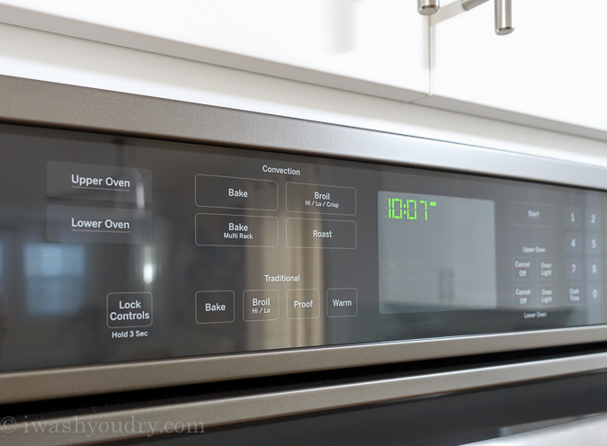 ge profile double wall ovens
