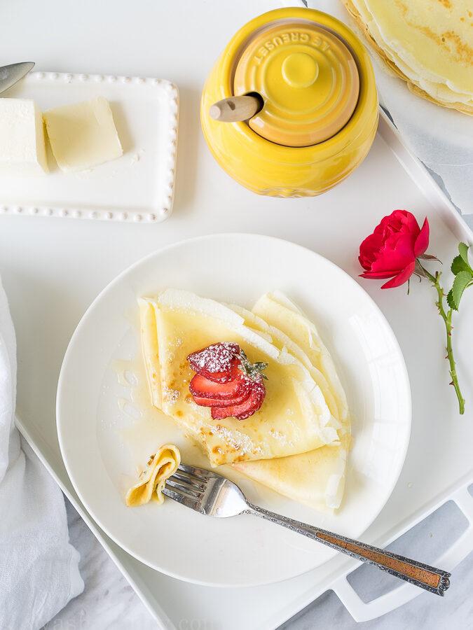 Honey Butter Crêpes
