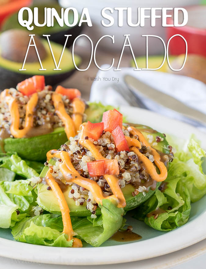 Quinoa Stuffed Avocado