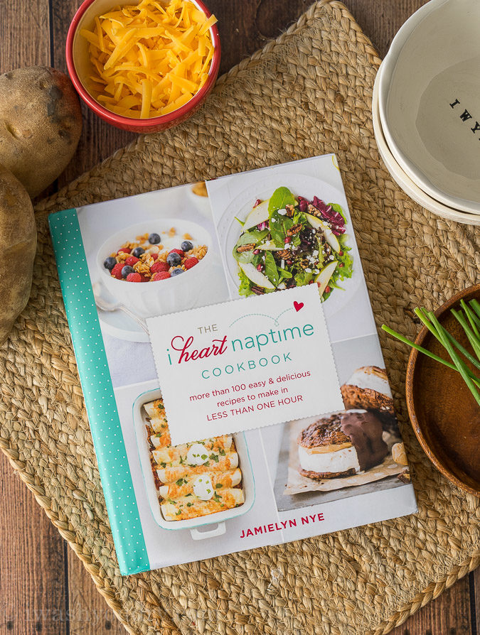 The I Heart Naptime Cookbook is filled with delicious recipes that are quick and easy!
