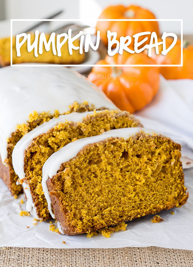 This super moist Pumpkin Bread with Maple Icing is bursting with fall flavors and perfect for a sweet breakfast, brunch or dessert!