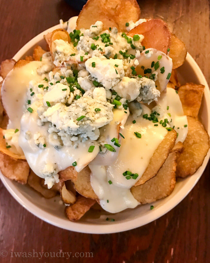 Blue Cheese Fondue Chips at The Smith in NYC