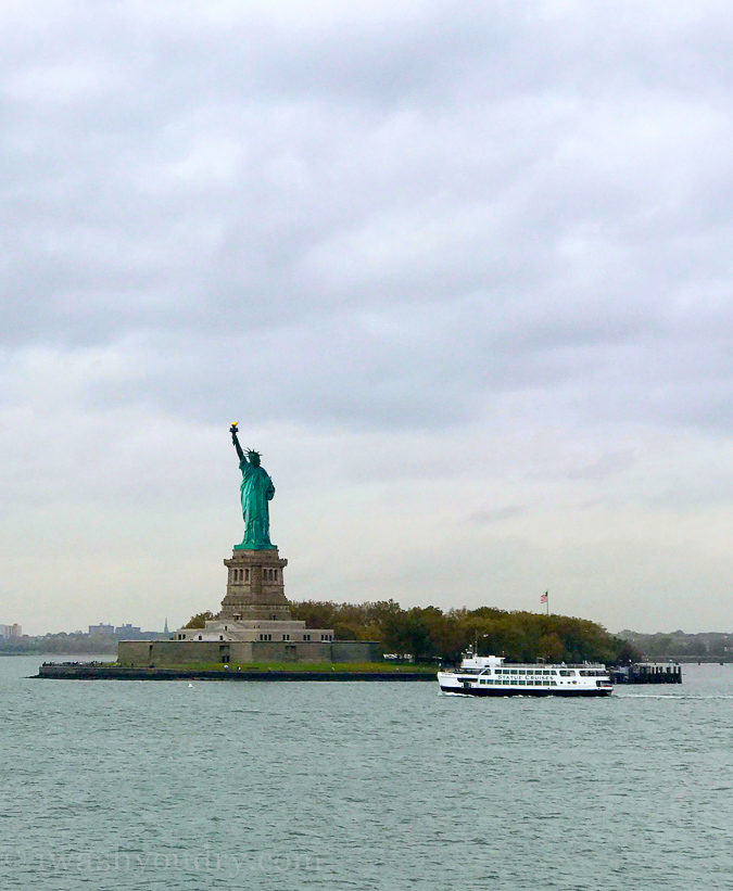 The best way to see the Statue of Liberty up close for FREE!