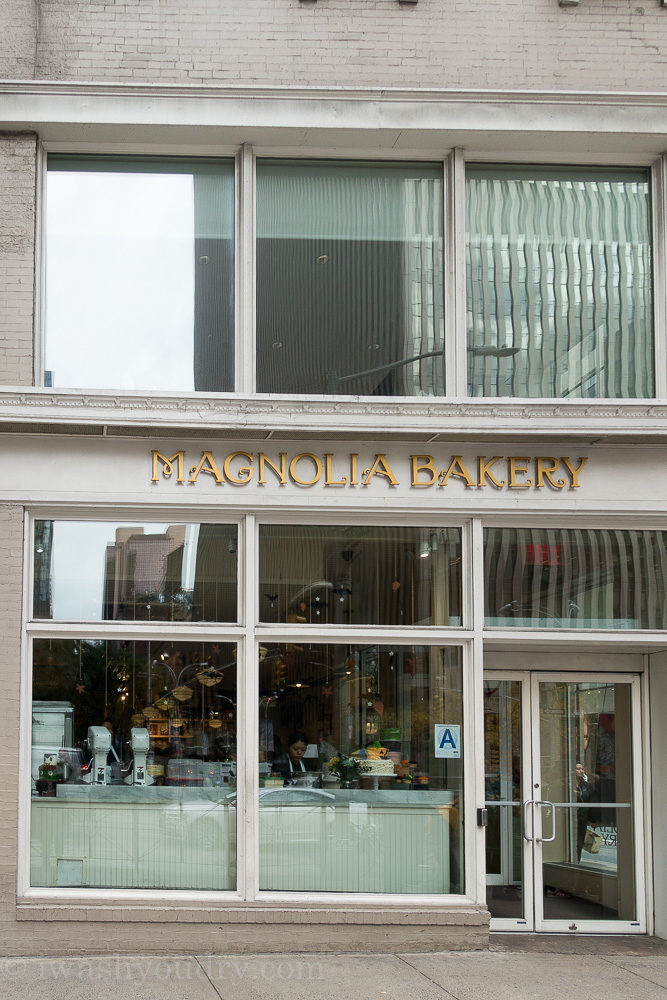 Magnolia Bakery in NYC! The best cupcakes!