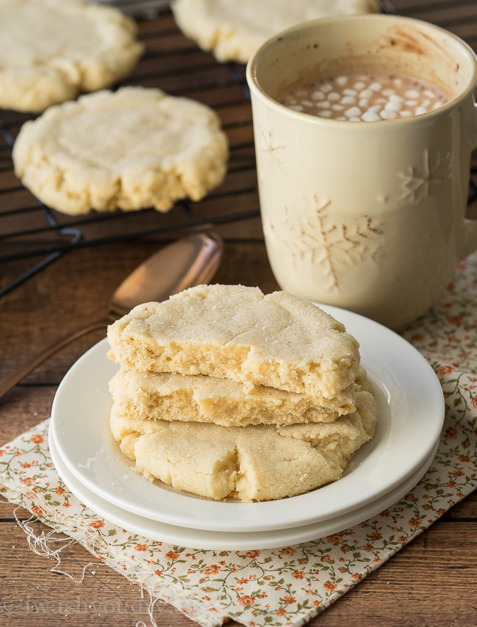 Chai Spiced Bakery Sugar Cookies