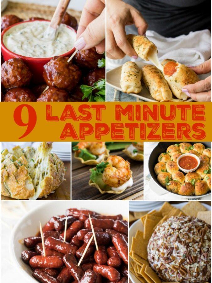 9 Last Minute Appetizers