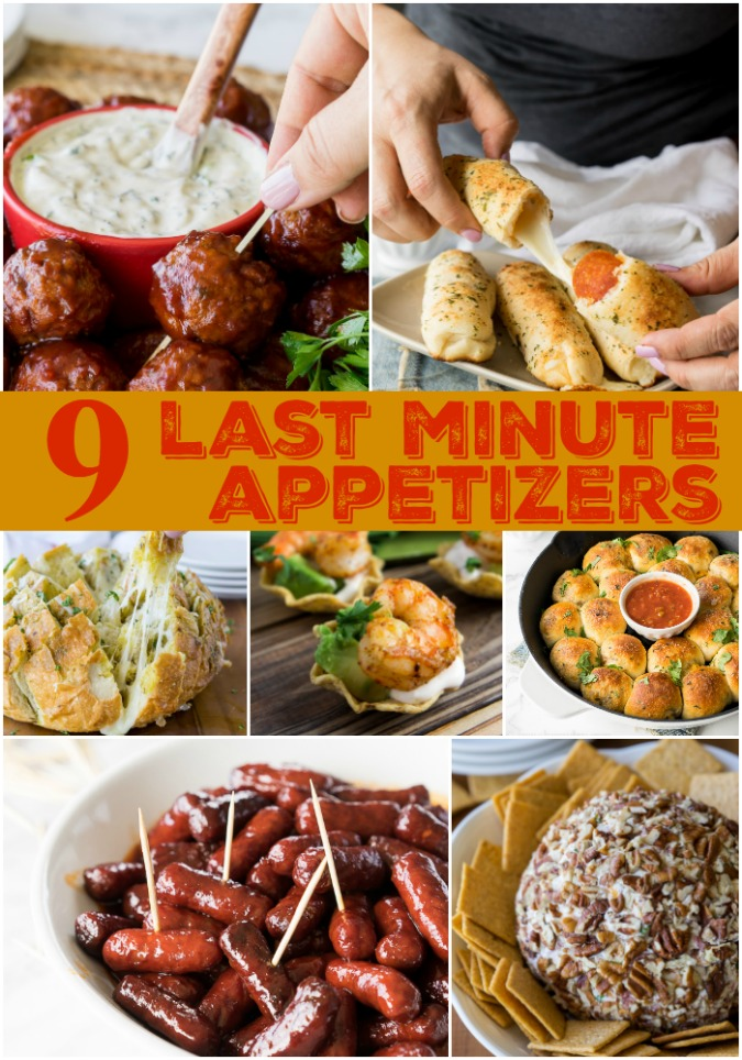 party food recipes 9 last minute appetizers i wash you 30891