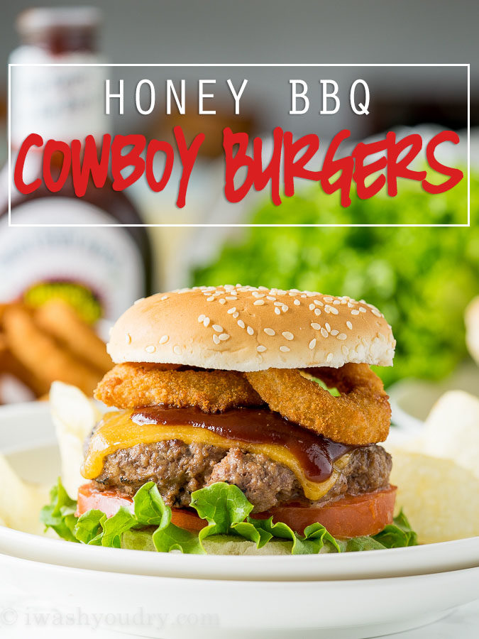 Honey BBQ Cowboy Burgers