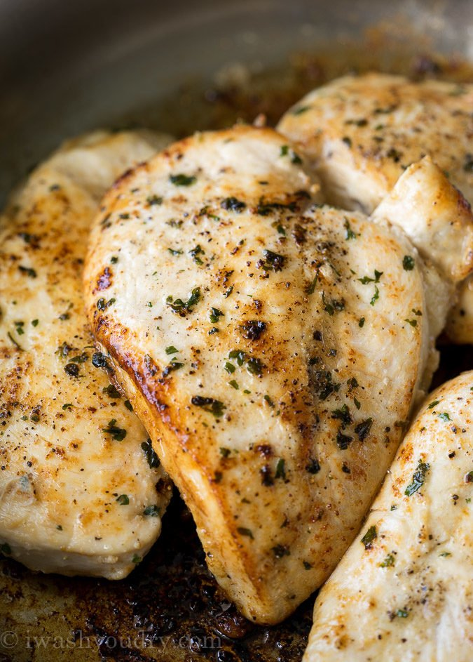 Quick and easy chicken breast recipes for the stove