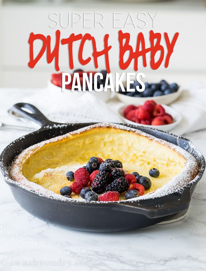 Super Easy Dutch Baby Pancake Recipe