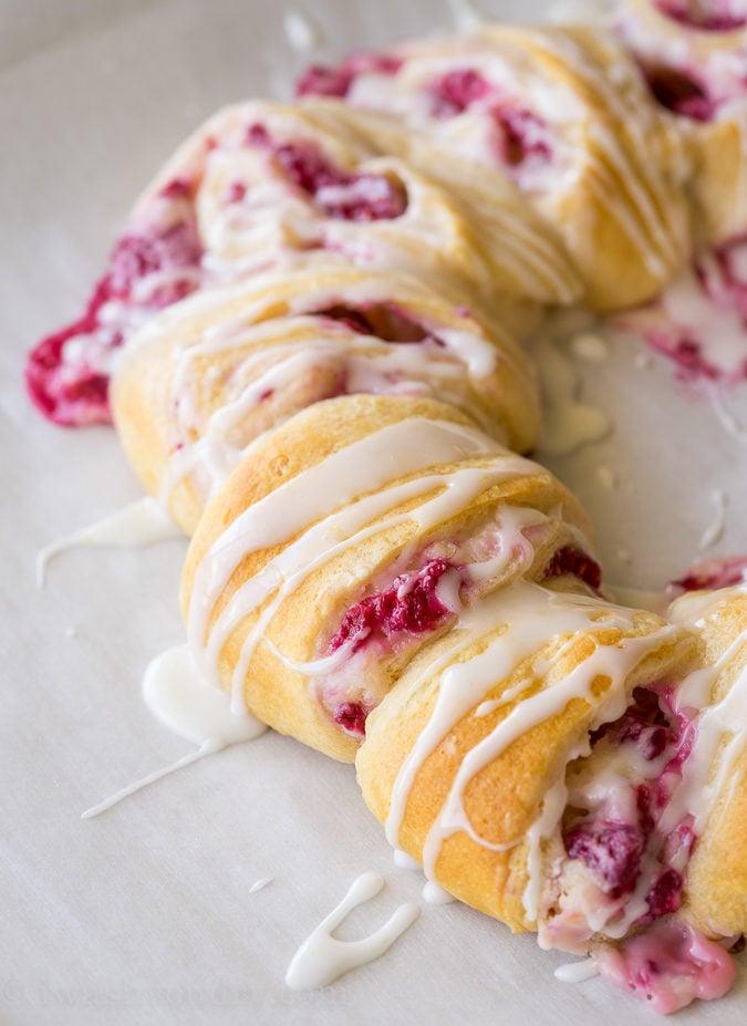 I can't wait to make these Lemon Raspberry Cream Cheese Danish Rolls for breakfast again!