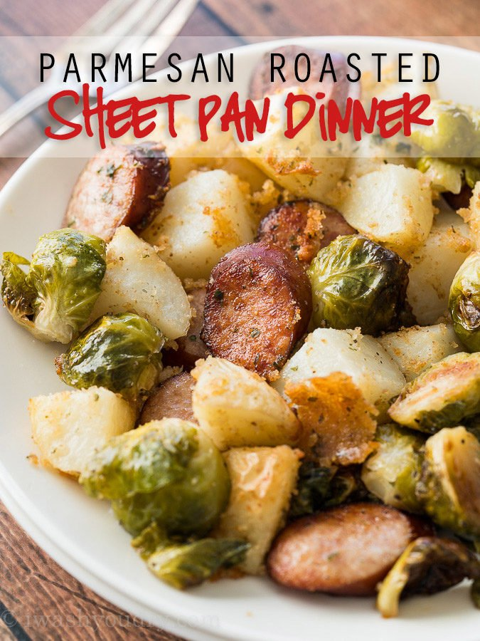 Parmesan Roasted Sheet Pan Dinner