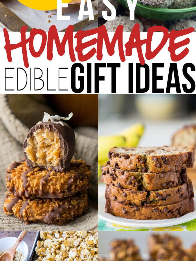 Edible Homemade Gift Ideas