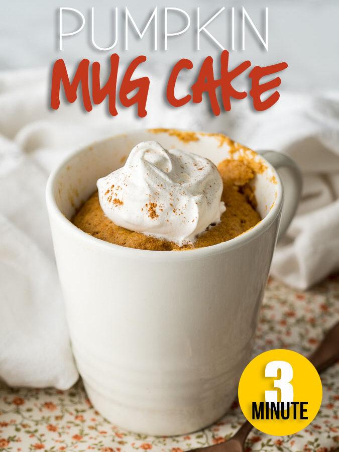 Pumpkin Mug Cake Recipe
